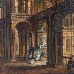 Architecture Capricci, Sign Stöcklin, Second Half of the 18th Century