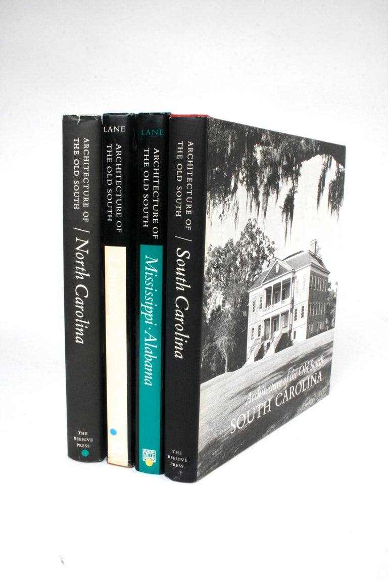 Architecture of the Old South, Four First Editions 13