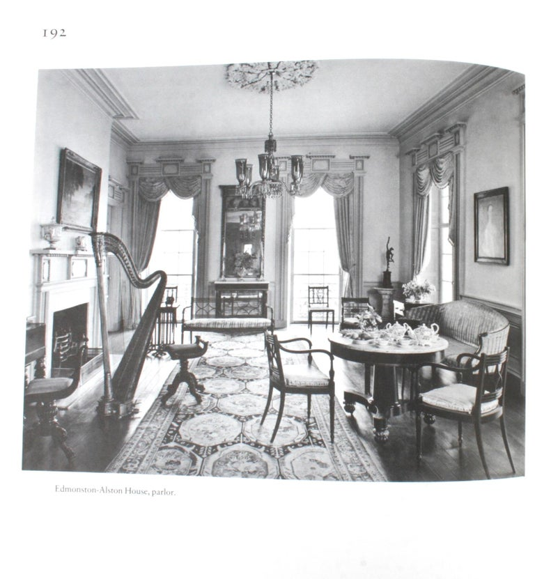 American Architecture of the Old South, Four First Editions