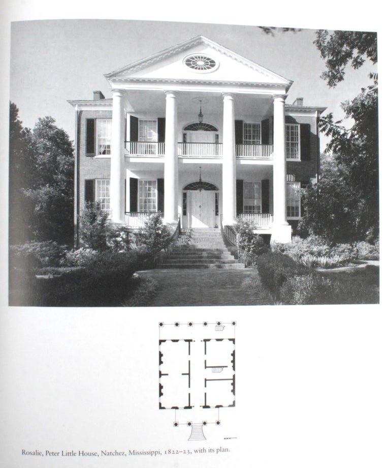 Architecture of the Old South, Four First Editions 1