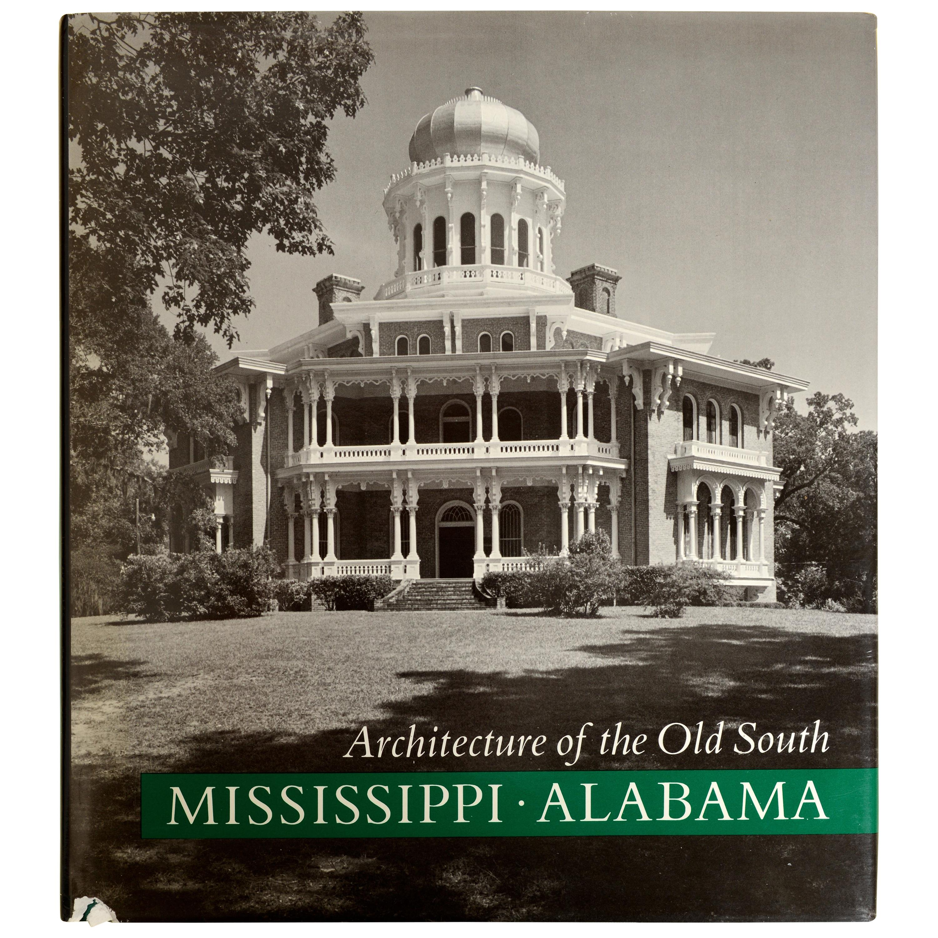 Architecture of the Old South Mississippi-Alabamba by Mills Lane, 1st Ed