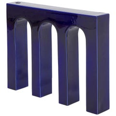 Architetture Domestiche Blue Ceramic Vase #2