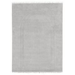 Archival Lines Customizable Athena Weave Rug in Moon Small