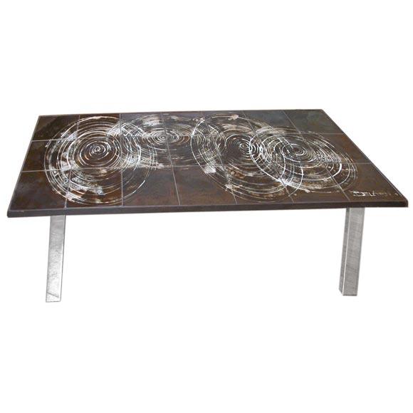 Belarti Ceramic Coffee Table At 1stdibs