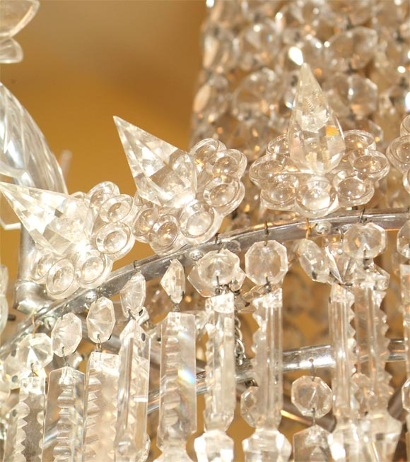 Turn Of The Century Elaborate Crystal Parisienne