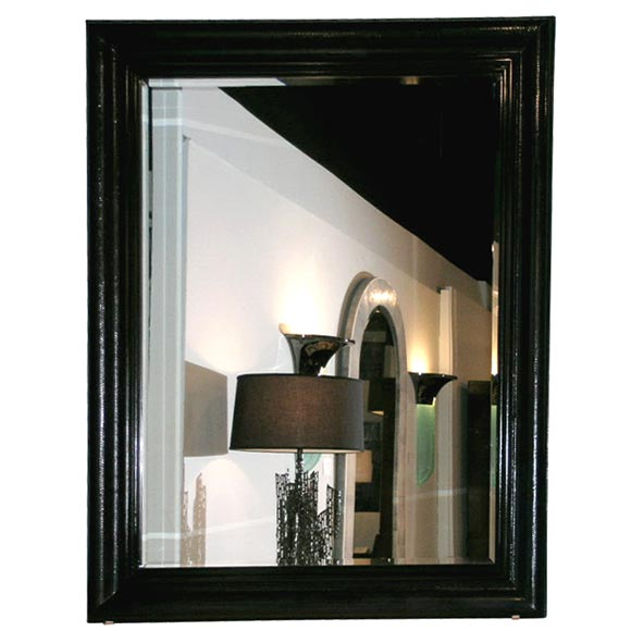 Large Hanging Mirror With Python Frame By Karl Springer