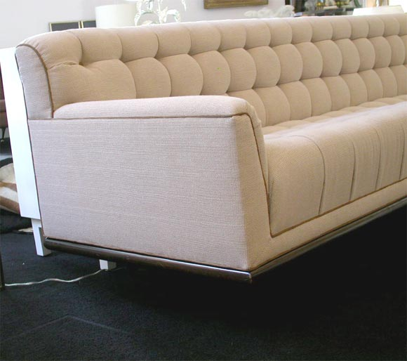 Spectacular 9 Foot Mid Century Sofa At 1stdibs
