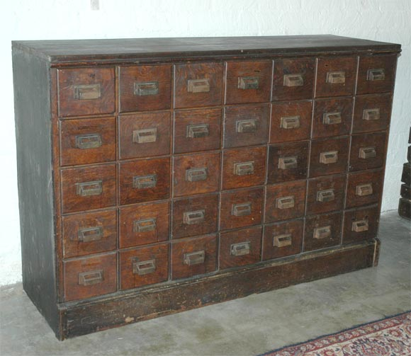 Antique American Apothecary Chest For Sale. This American Pharmacy chest  has 35 drawers all of - Antique Apothecary Cabinet For Sale Antique Furniture