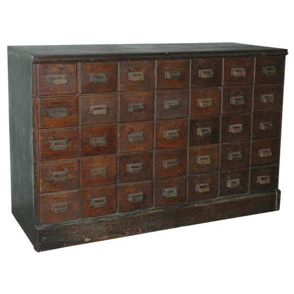 Antique American Apothecary Chest 1 - Antique American Apothecary Chest At 1stdibs