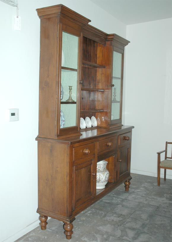Breakfront Welsh Dresser With Dog Kennel At 1stdibs