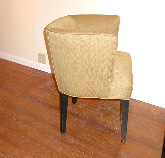 Four Petite Club Game Chairs At 1stdibs