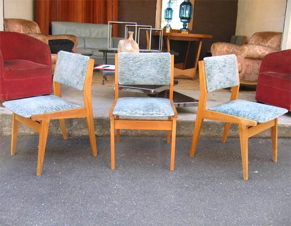 six 1950 ash chairs for sale at 1stdibs