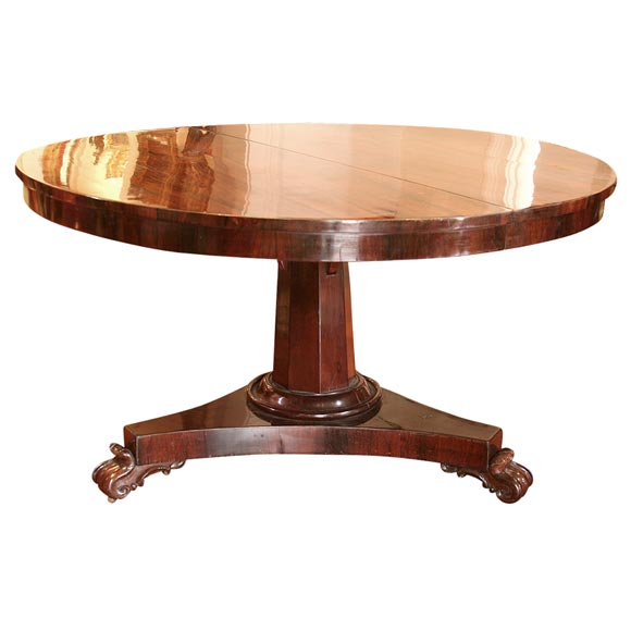 English Regency Rosewood Dining Table at 1stdibs : x IMG7210 from www.1stdibs.com size 580 x 580 jpeg 24kB