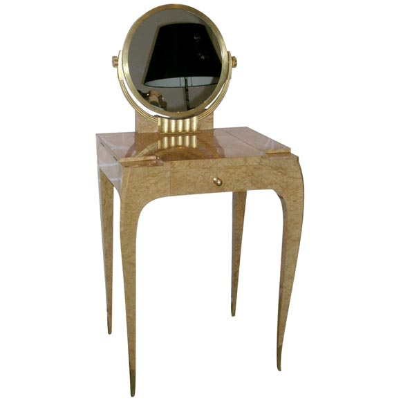 Rare And Early Art Deco Vanity By E J Ruhlmann At 1stdibs