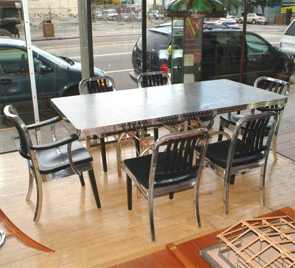 very unique dining set at 1stdibs