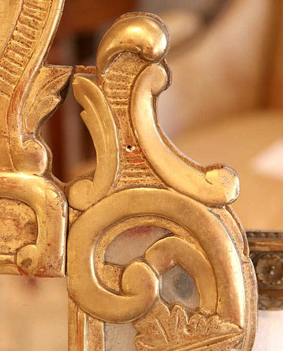 louis xvi avignon mirror for sale at 1stdibs. Black Bedroom Furniture Sets. Home Design Ideas