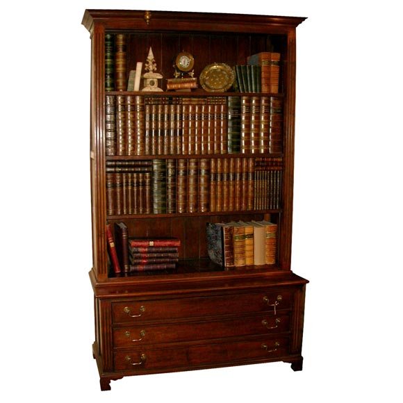 Flat Screen Tv Faux Bookcase Entertainment Unit At 1stdibs