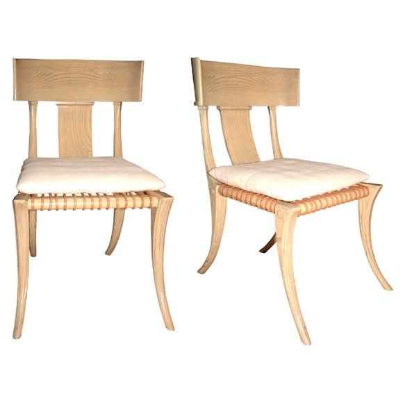 Robsjohn-Gibbings Klismos Side Chairs
