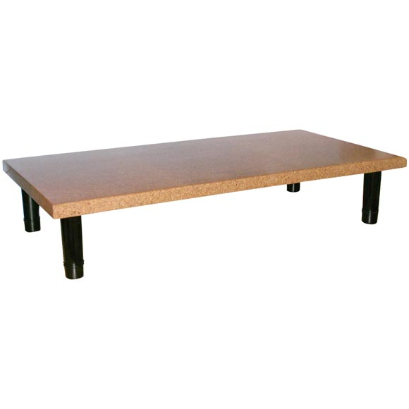 Paul Frankl Cork Top Cocktail Table At 1stdibs