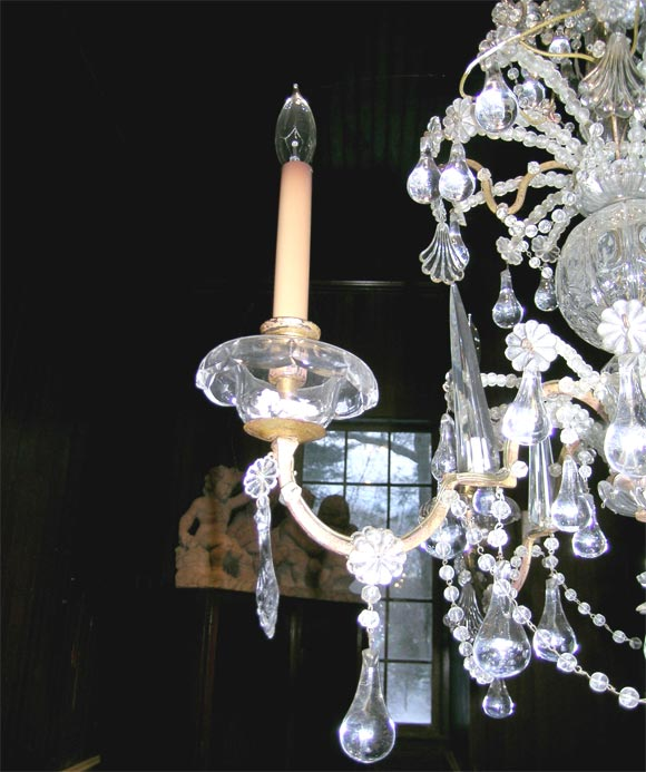 French Crystal Chandelier For Sale 2