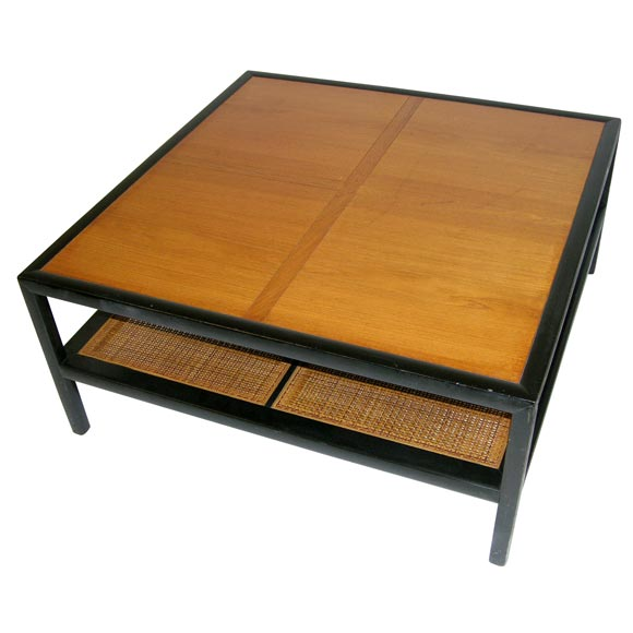 Bon Square Cocktail Table By Michael Taylor For Baker Furniture