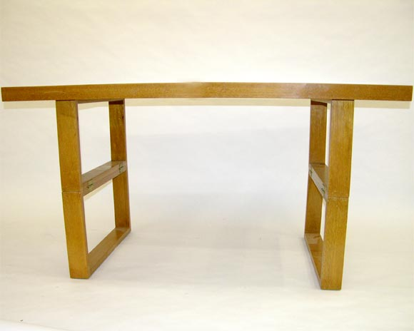DSCN1592 Designer Coffee Tables Rectangular Cocktail Camel Table By Van Keppel And Green At Stdibs