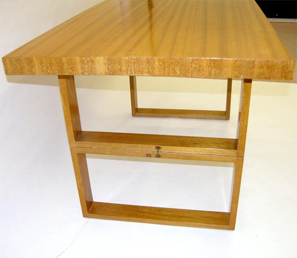 DSCN1598 Designer Coffee Tables Rectangular Cocktail Camel Table By Van Keppel And Green At Stdibs