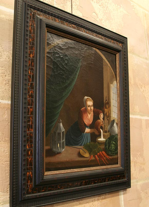 19th Century Flemish School Oil Painting In Good Condition For Sale In New Orleans, LA