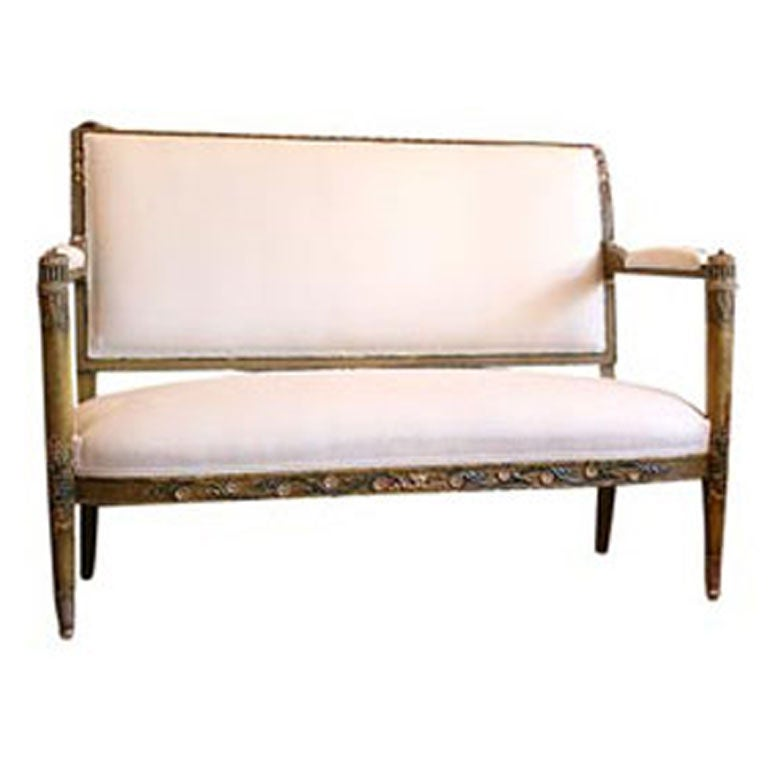 French Directoire Period Settee at 1stdibs