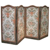 18th century French four paneled screen