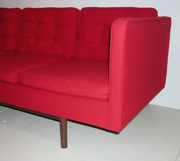 8 ft floating sofa by milo baughman for thayer coggin at for 8 foot couch