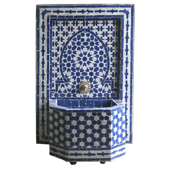 moroccan wall fountain at 1stdibs