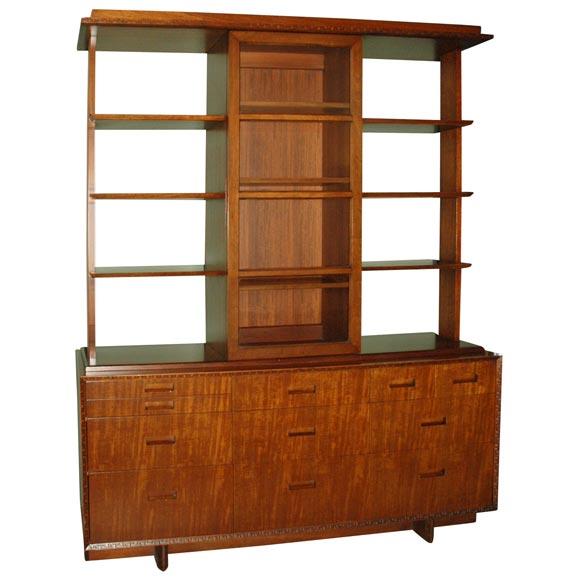 Frank Lloyd Wright Cabinet at 1stdibs