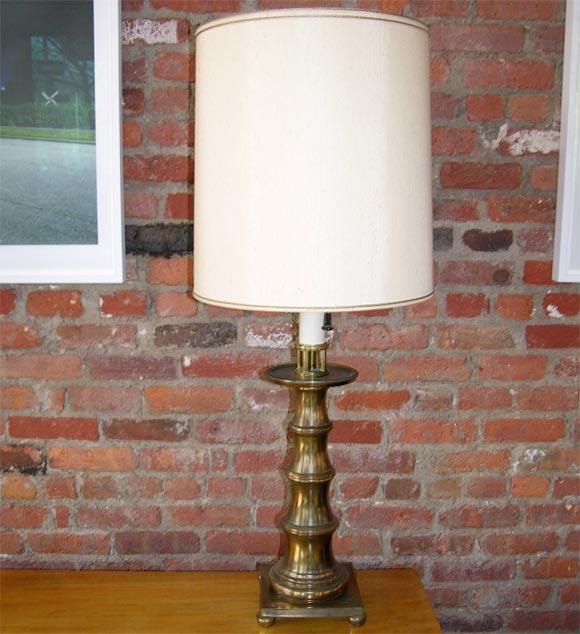 Brass Stiffel Table Lamps Ca 1970 At 1stdibs