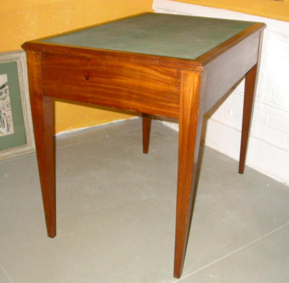 French Mahogany Desk For Sale