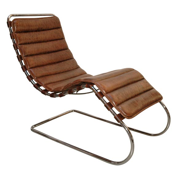 mies van der rohe chaise longue at 1stdibs. Black Bedroom Furniture Sets. Home Design Ideas