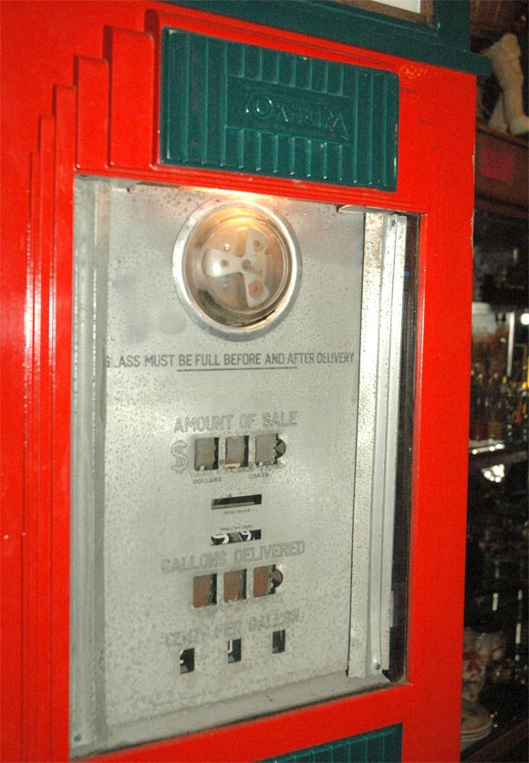 1930 S Art Deco Skyscraper Gas Pump At 1stdibs