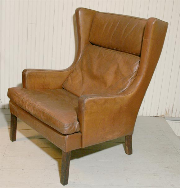 Wing Back Chair At 1stdibs
