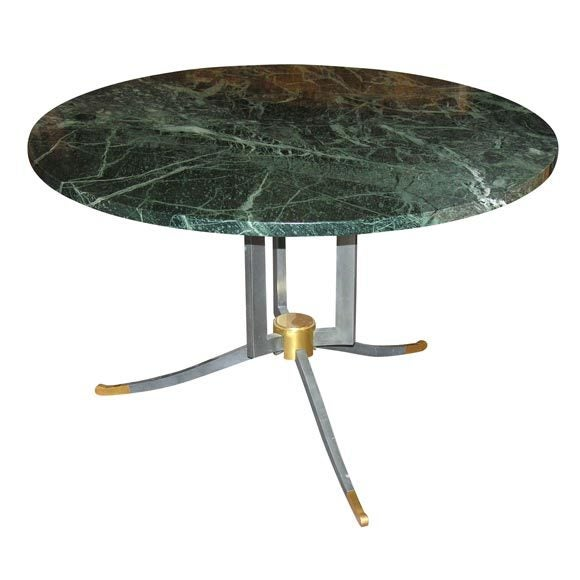 French Jules Leleu, Coffee table, France, c. 1960