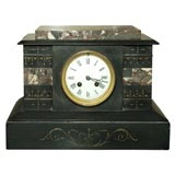 19th Century French Marble Clock