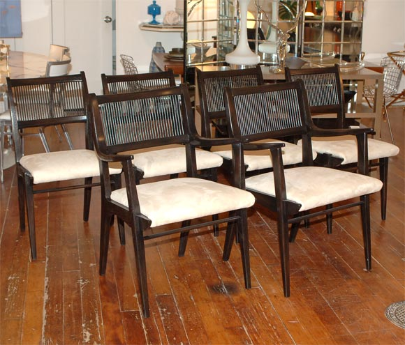 drexel profile line dining set at 1stdibs