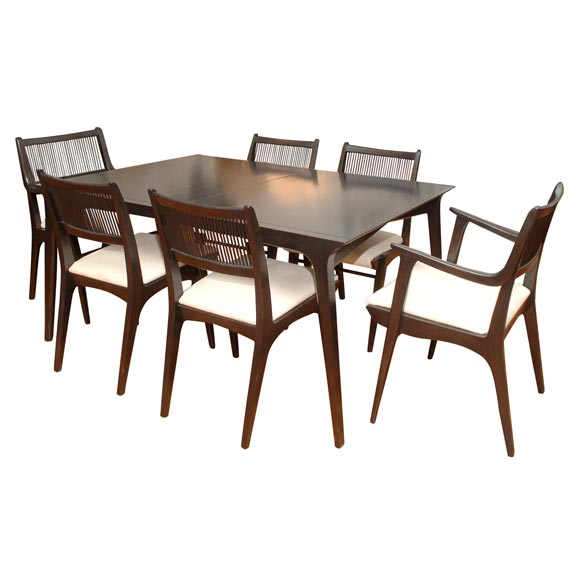 "Drexel ""Profile"" Line Dining Set At 1stdibs"