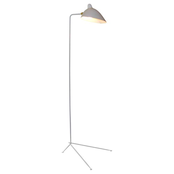 Standing lamp one arm by Serge Mouille at 1stdibs