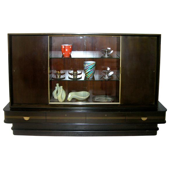 German Art Deco Bar Cabinet By Musterring Mobel At 1stdibs