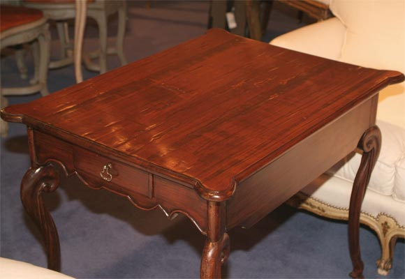18th C. Louis XV Provincial Chestnut Writing Table 6