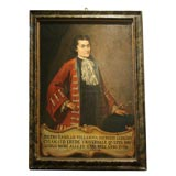 Pair of 18th Century Italian Portraits of Noblemen