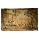 18th c. Brussels Tapestry with pastoral scene