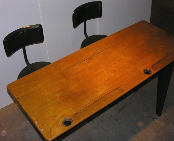 French Jean Prouve Desk For Sale