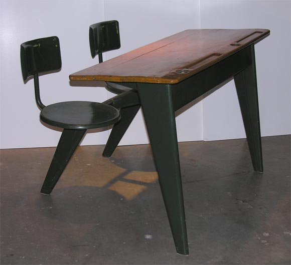 Mid-20th Century Jean Prouve Desk For Sale