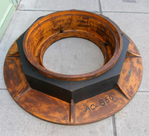 Industrial Wood Mold At 1stdibs